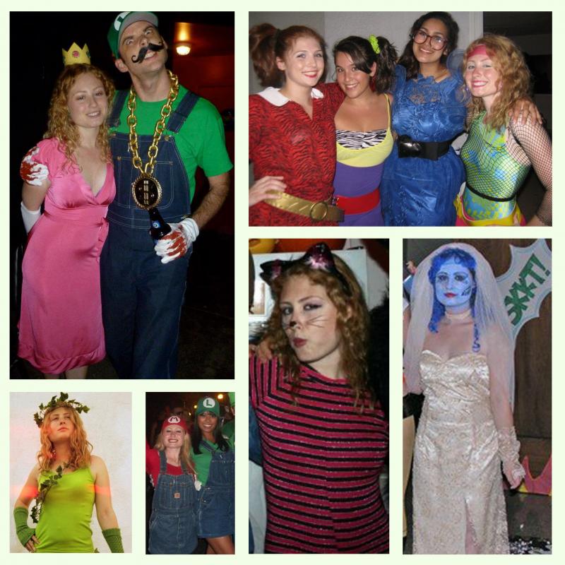melissa-judson-halloween-costume-ideas-diy-homemade-peach-mario-luigi-corpsbride-80's-ivy