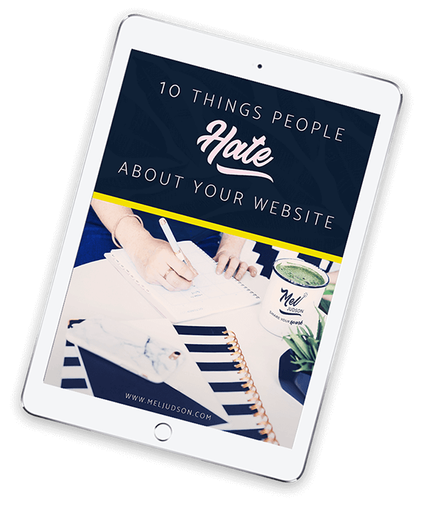 Mel Judson 10 Things People Hate about your website ipad pdf