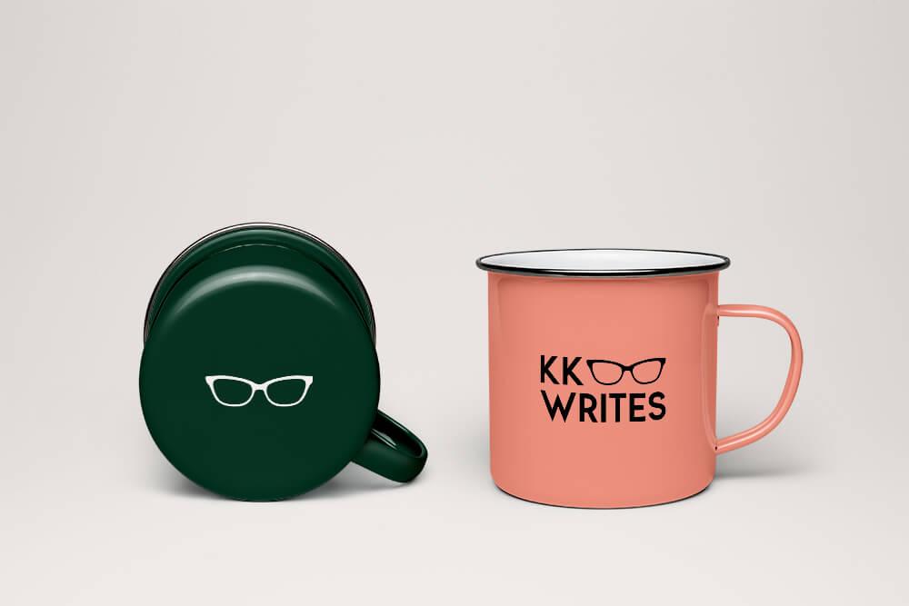 Kk Writes Logo Design Mel Judson
