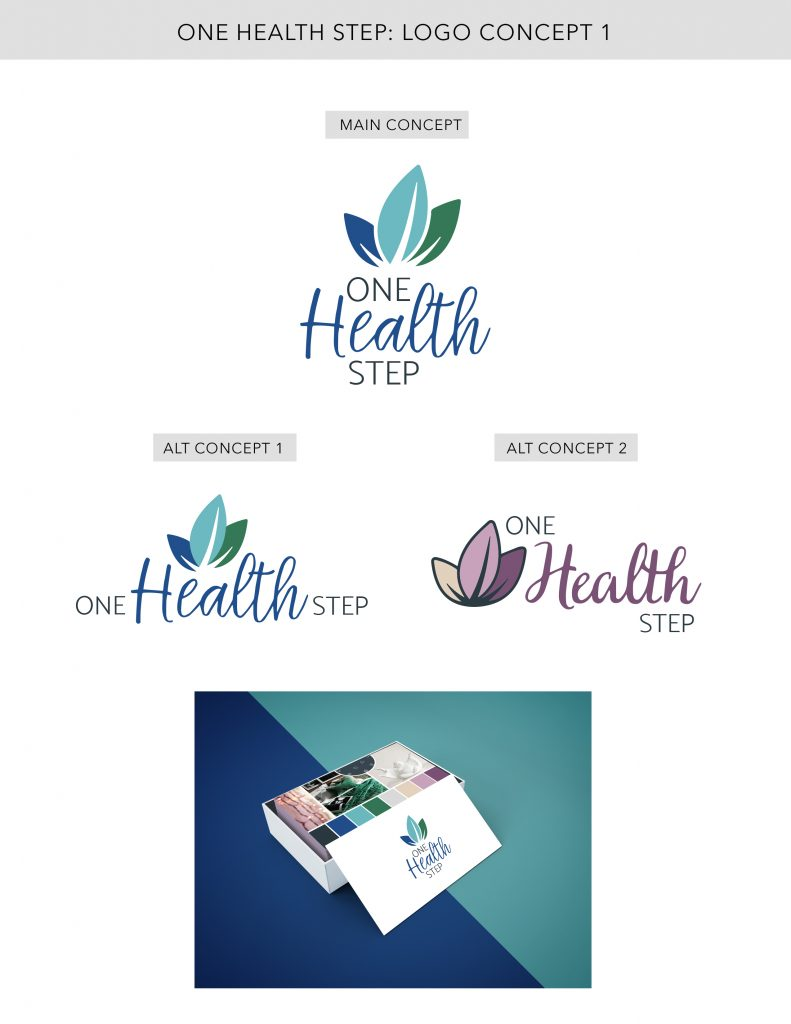 Heal with Liz Logo Concept 1 Designed by Mel Judson Branding & Web Design