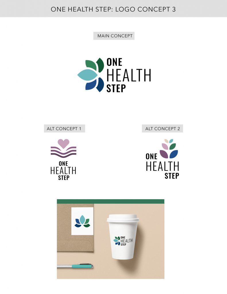 Heal with Liz Logo Concept 3 Designed by Mel Judson Branding & Web Design