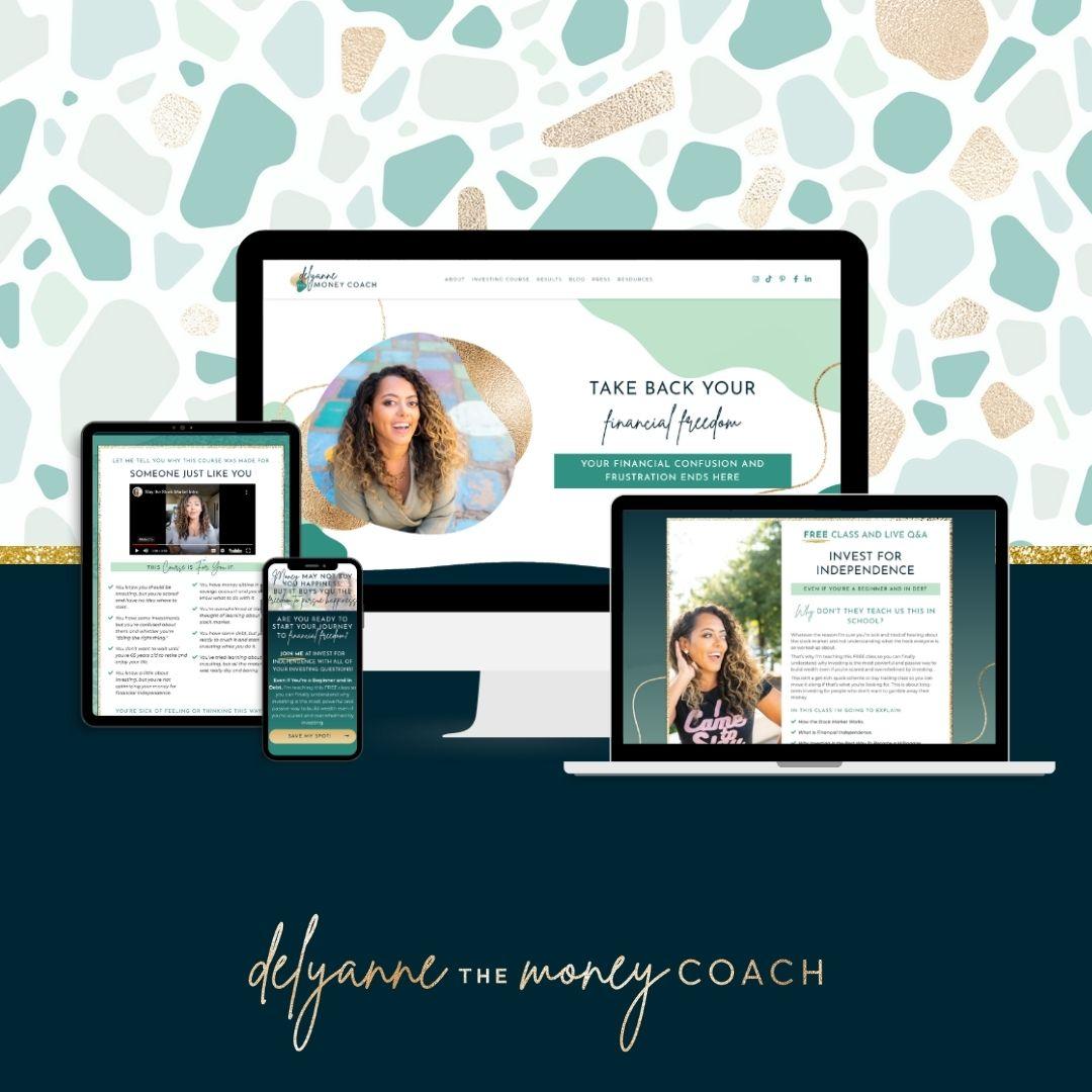 Delyanne Website Launch Images Square